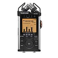 Tascam DR44-WL (DR44WL) Portable 4-Track Linear Handheld Recorder with Stereo Mics and WiFi