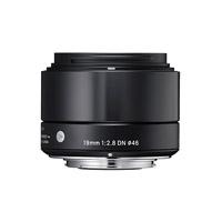 Sigma (40B963) 19mmf/2.8AseriesDN LensforMicroFour Thirds(MFT) - Black