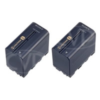 Sony 2NP-F970/B (2NP-F970) Rechargeable Battery Pack for the DSR-PD170P, HVR-HD1000E, Z1E, V1E, Z5E, DR60 and MRC1K