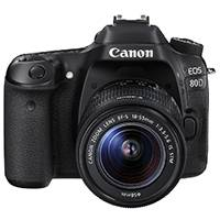 Canon EOS 80D 24.2 Megapixel APS-C Digital SLR Camera with Canon EF 18-55mm IS STM Lens (Canon p/n 1263C044AA)