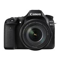 Canon EOS 80D 24.2 Megapixel APS-C Digital SLR Camera with EF 18-135mm IS USM Lens (p/n 1263C047AA)