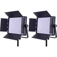Datavision LG-1200LK2 (LG1200LK2) LEDGO 1200 Daylight Dimmable LED Location/Studio Lighting Kit