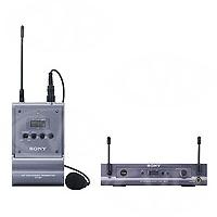 Sony UWP-S1PRO77 (UWP-S1/67, UWPS1, UWP-S1, /67) HIROSE belt-pack Tx (transmitter) c/w Sony ECM-77BC microphone + 1/2 rack diversity receiver - 838-862MHz