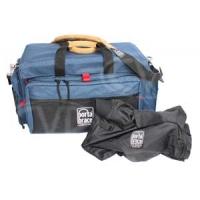 Portabrace DVO-2UQS-M4 (DVO-2) DV Organiser Case with Quick Slick for Sony HVR-Z1U, HVR-Z7U and PMW-EX1 (blue)
