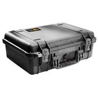 Peli Products 1500 Waterproof Flight Case without Foam (Internal Dimensions: W 43.5 cm x D 29.2 cm x H 15.5 cm)
