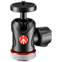 Manfrotto MH492LCD-BH (MH492LCDBH) Micro Ball Head with Cold Shoe Mount