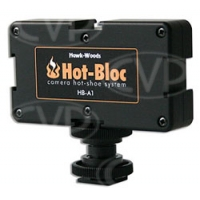 Hawk-Woods HB-A1 (HBA1) Hot Bloc Adaptor for hot-shoe fitting to provide 3 more mounts