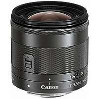 Canon EF-M 11-22mm f/4-5.6 IS STM Wide-Angle Zoom Lens for the Canon EOS-M camera (p/n 7568B005AA)