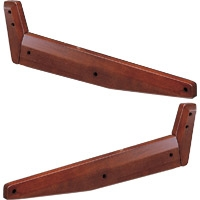 Yamaha SP2000 (SP-2000) Wooden Side Panels for DM2000 Console