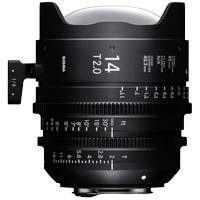 Sigma 14mm T2 FF High Speed Prime Cine Lens EF Mount - Available in Feet or Metre Scale (450966 / 45M966)