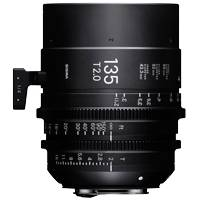 Sigma 135mm T2 FF High Speed Prime Cine Lens Sony E Mount - Available in Feet or Metre Scale (240967 / 24M967)