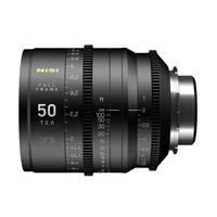Nisi F3 Prime Cinema 50mm T2.0 Lens - PL Mount (p/n NIF350PLM)