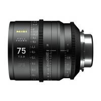 Nisi F3 Prime Cinema 75mm T2.0 Lens - PL Mount (p/n NIF375PLM)