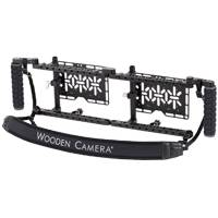 Wooden Camera Dual Directors Monitor Cage v2 with Rubber Grips (p/n 243309)