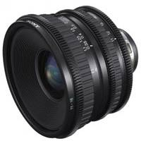 Sony SCL-P11X15 (SCLP11X15) 11-15mm / T3.0 Wide Angle Zoom PL Mount Lens