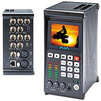 AJA Ki Pro Quad 4K/Ultra HD/2K/HD File-Based Recorder/Player With ProRes 4444/422 (Ki-Pro-Quad)