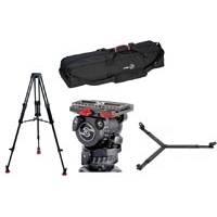 Sachtler 0471 System  FSB 6 / 2D (FSB62D) + FSB Speed Balance Fluid Head + ENG 75/2D aluminium tripod + spreader + padded bag