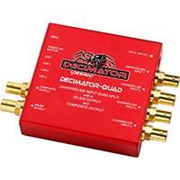 Grade A Decimator Design DECIMATOR QUAD (DECIMATORQUAD) 3G/HD/SD-SDI Quad Split, SD-SDI & Composite Outputs