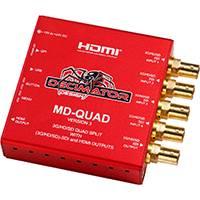 Decimator Design DD-MD-QUAD (DDMDQUAD) Version 3 Decimator 3G/HD/SD-SDI Quad Split, 3G/HD/SD-SDI + HDMI Outputs