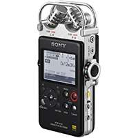 Sony PCM-D100 (PCMD100) High Resolution Portable Audio Recorder with Duel Condenser Microphones, 32GB Internal Memory and Backlite LED Display