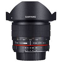 Samyang 8mm f3.5 Fisheye Lens - Samsung NX (7620)