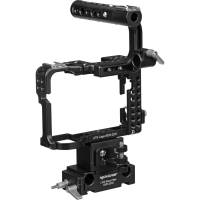 Movcam 303-2200 (3032200) Cage Kit for the Sony a7s Compact System Camera - includes Riser Block and Baseplate