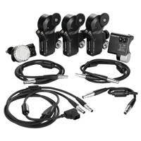 Ikan PDL-3CH-FIZ (PDL3CHFIZ) Live 2 Compact 3-Channel Focus Iris & Zoom Control Kit (PD Movie)