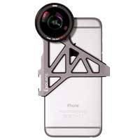 ExoLens with Optics by ZEISS 2193-799 (2193799) Wide Angle Kit including ZEISS Mutar 0.6x Asph T* Wide-Angle Lens and Bracket for iPhone 6/6s