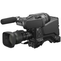 Sony HXC-FB80 (HXC-FB80KL/HXC-FB80KN) Three 2/3-inch Exmor CMOS Sensor HD Colour Studio Camera with LCD Viewfinder, Microphone and Lens package