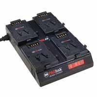 PAG PAGlink PL16+ Charger for PAGlink V-Mount Batteries (4 x V-Mount / iPC) (p/n 9711.)