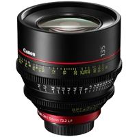 Canon CN-E 135mm T2.2 L - EF Mount Digital Cine Prime Lens CN-E135 (p/n 8326B001AC)