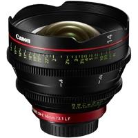 Canon CN-E 14mm T3.1 L - EF Mount Digital Cine Prime Lens CN-E14 (p/n 8325B001AC)