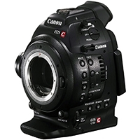 Canon EOS C100 EF (Cinema, EOS, C-100) Super 35mm Digital Cinematography Camcorder Installed with Dual Pixel CMOS AF (built in auto focus) and EF 18-135mm Lens