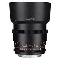 Samyang 85mm T1.5 Mark II AS IF UMC VDSLR Lens - Canon EF Mount (7816)