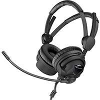 Sennheiser HME 26-II-100(4)-P48 (HME26II1004P48) Professional Broadcast, Closed Ear, Headset with Phantom Power and a Pre-Polarized Cardioid Condenser Microphone (Without Cable)