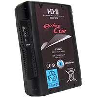IDX Endura CUE-D75 (CUED75) 73 Watt Hr Li-ion Sony V-Mount Battery - suitable for Canon C100, JVC GY-HM700 & Sony PMW-200