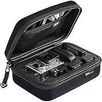 SP Gadgets Small Camera Storage Case for GoPro camera and accessories (black or blue)