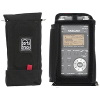 Portabrace AR-DR100MKII (ARDR100MKII) Audio Recorder Case for Tascam DR100mkII