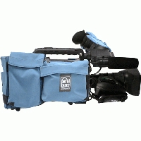 Portabrace CBA-HPX300B (CBAHPX300B) Camera Body Armour with reversible Rain/Dust Top for Panasonic AG-HPX300 / AG-HPX301 (black)