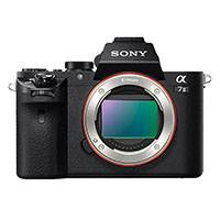 Sony Alpha a7 Mark II 24.3 Megapixel Full Frame Sensor Digital SLR Camera Body Only (p/n ILCE7M2B.CEC)