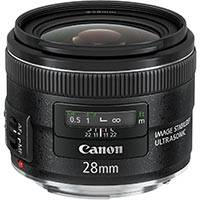 Canon EF 28mm f/2.8 IS UsM Wide Angle Lens (p/n 5179B005AA)