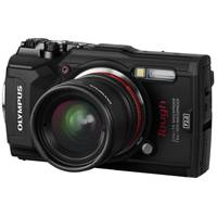 Olympus Tough! TG-5 12 Megapixel Digital Camera with 4x Optical Zoom and 4K Recording - Black or Red (V104190BE000 / V104190RE000)