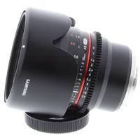 Open Box Samyang 50mm T1.5 VDSLR AS UMC Lens, Sony E-Mount (7443)