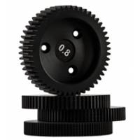 RTMotion (RTM-6210) Motor Gear Full Set includes Pack of 4 (0.8-wide, 0.6, 0.5, 0.4)