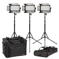 Ikan MW8-3PT-KIT (MW83PTKIT) Mylo Daylight 3-Point LED Light Kit