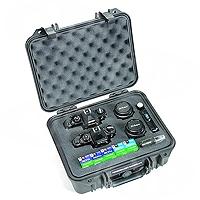 Peli Products 1400 Waterproof Case with Foam (Pelican, Pelicase) (Internal Dimensions: W 30.6 cm x D 23.4 cm x H 13.0 cm)