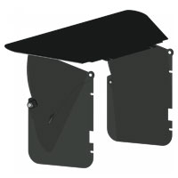 Vocas Side Flag Kit for MB-430 Matte Box- includes 2 side wings and medium wide top flag- 0440-0002 (04400002)