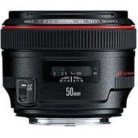 Canon 50mm f/1.2L UsM L Series Fixed Focal Length Lens - Canon EF Mount (p/n 1257B005AA)