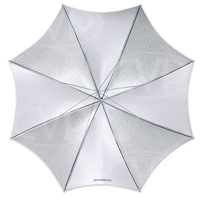 Westcott 2002 43 Inch soft silver collapsable umbrella (860049)