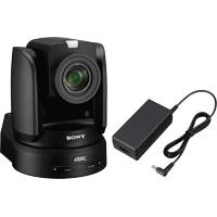 Sony BRC-X1000 (BRC-X1000/AC) 4K PTZ Camera with 1in Exmor R CMOS Sensor and 12x Optical Zoom with AC Adapter